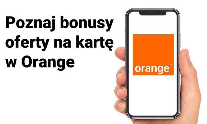 Orange oferta z telefonem na kartę